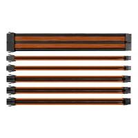 Комплект Sleeved Cable Tt Mod (AC-036-CN1NAN-A1) Black&Orange