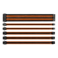 Комплект Sleeved Cable Tt Mod (AC-036-CN1NAN-A1) Black&Orange