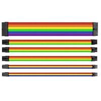 Комплект Sleeved Cable Tt Mod (AC-049-CNONAN-A1) Rainbow