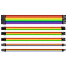 Комплект Sleeved Cable Tt Mod (AC-049-CNONAN-A1) Rainbow