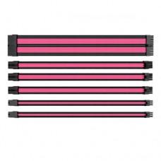 Комплект Sleeved Cable Tt Mod (AC-046-CN1NAN-A1) Black&Pink