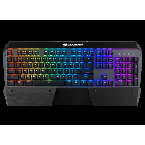Клавиатура Cougar Attack X3 RGB Iron Grey (2018 version) (Cherry MX Blue)