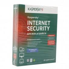Продление Kaspersky Internet Security Multi-Device, на 2 ПК, на 1 год, коробка
