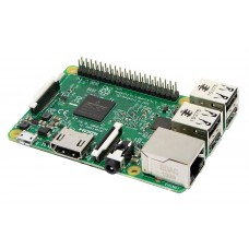 Raspberry PI3 model B 1Gb (1.2GHz, 1Gb, HDMI, LAN, WiFi, BT, 4xUSB, microSD, 40xGPIO)