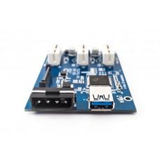 Разветвитель PCI-E LPE-31X CARD PCI E / 1 PCI - 3PCI-E