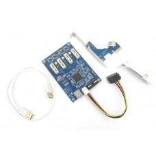 Разветвитель PCI-E на 4 LPE-41X CARD PCIE / 1PCIE - 4PCI-E