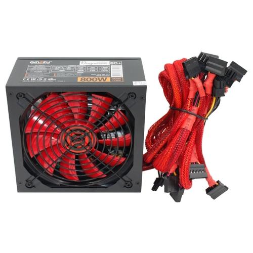Блок питания Ginzzu PC800 800W ATX (24+2x4+2x6/8пин)