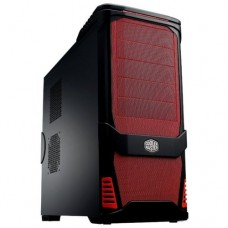 Cooler Master USP 100 (RC-P100) w/o PSU Black/red