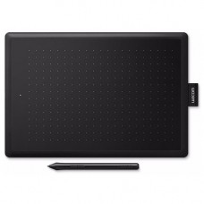 One by Wacom Medium (CTL-672-N) Black/Red USB