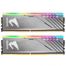 DDR4 16GB Gigabyte DDR4 3200 DIMM Aorus RGB Silver  Kit (2x8GB)