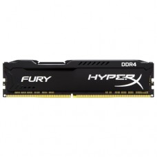 DDR4 16Gb 2666Mhz Kingston HyperX FURY Black Series HX426C16FB/16