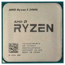 RYZEN R5-2400G AM4 65W 3900, RX Vega Graphics ,BOX