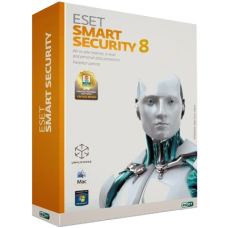 Антивирус ESET NOD32 Smart Security - лицензия на 1 год
