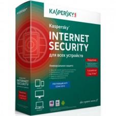 Антивирус Kaspersky Internet Security 3 ПК/1 Год