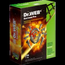 Антивирус Dr.Web Бастион Pro 2ПК/1 год
