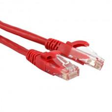 Кабель Patch Cord UTP кат.5e 0.5м (красный)