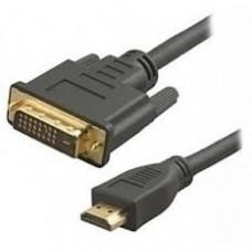 Кабель HDMI - DVI 7.5m Titan (GC-HD2DVI1-7.5m)