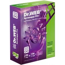 Антивирус Dr. Web для Windows 2ПК/1 Год