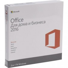 Microsoft® Office Home and Busines 2016 32-bit/64bit Russian DVD