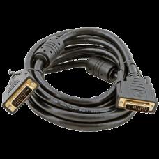 Кабель DVI-DVI 5м VCOM Dual Link