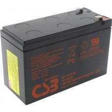 Аккумулятор CSB GP1272 (12V, 7.2A) для UPS
