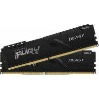Оперативная память Kingston Fury Beast DDR4 2x8Gb 3600Mhz (KF436C17BBK2/16)