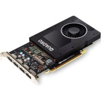 NVIDIA Quadro PNY P2200 1000 MHz PCI-E 5120MB 5000MHz (VCQP2200BLK-1)