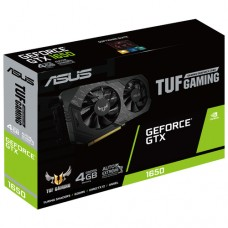 ASUS TUF GeForce GTX 1650 1485MHz PCI-E 3.0 4096MB 8002MHz 128 bit DVI DisplayPort HDMI HDCP GAMING